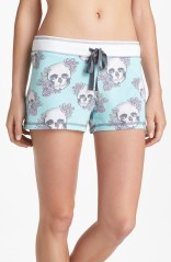 PJ Salvage Skull Sleeping Shorts. Super soft and now on sale.