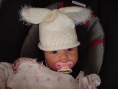 Beatrix as bunny