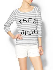 Pim + Larkin Tres Bien Sweatshirt @ Piperlime
