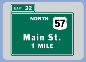 #1-Exit 1 Mile
