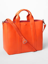 gap orange bag
