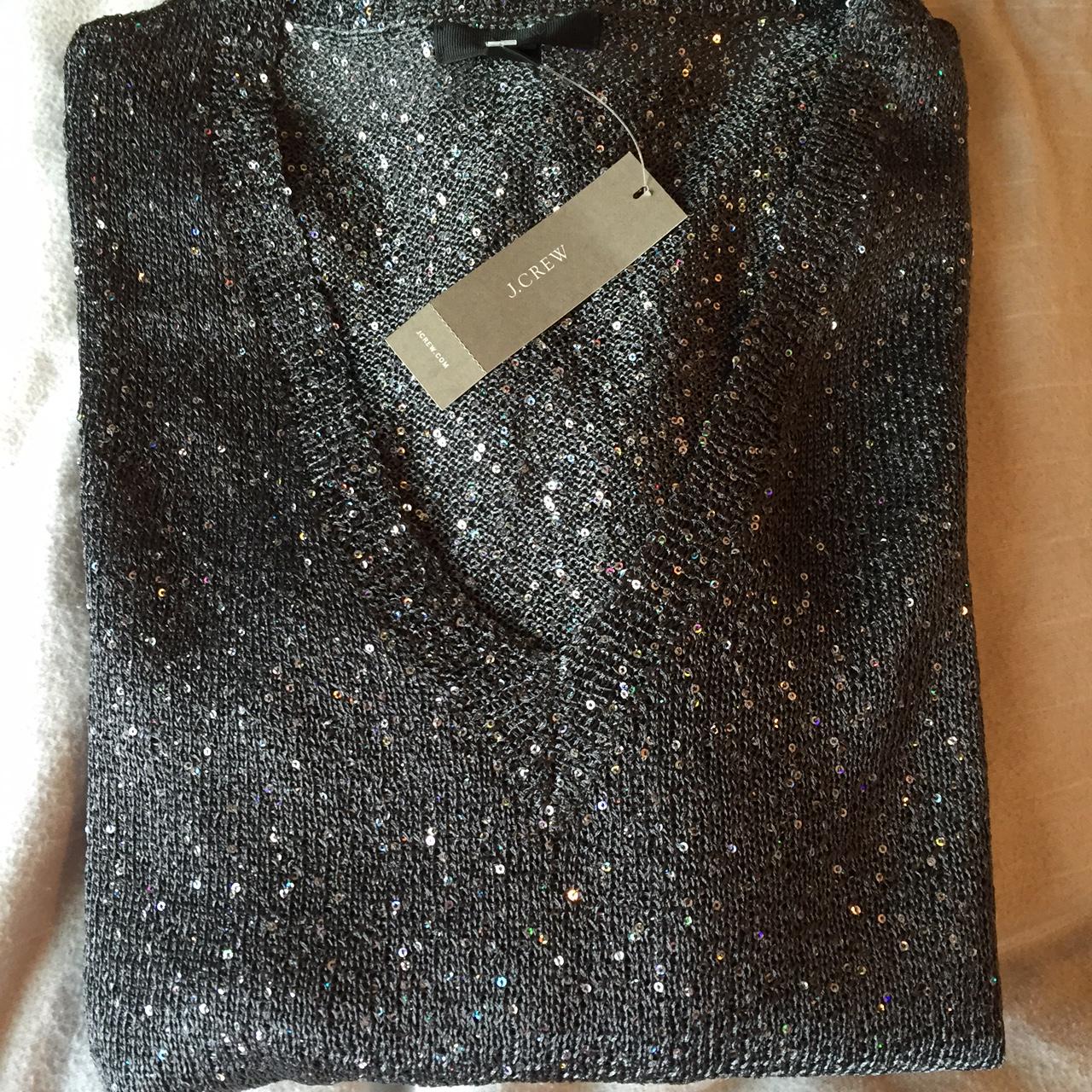 J Crew Shimmer Sweater Fancyladydoctor