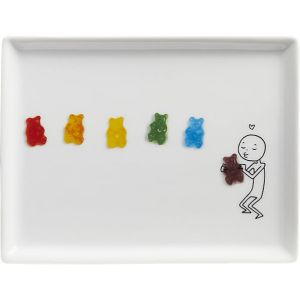oliver-rainbow-gummy-bears-appetizer-plate