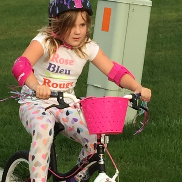Biking Trixie